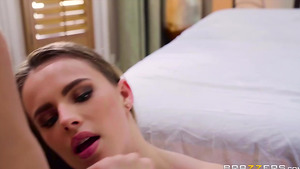 Young anal slut Jillian Janson takes cock deep in her tight ass!