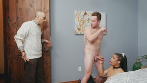 Young wife Kira Noir French Maid cheating her husband in free adult porn videos!